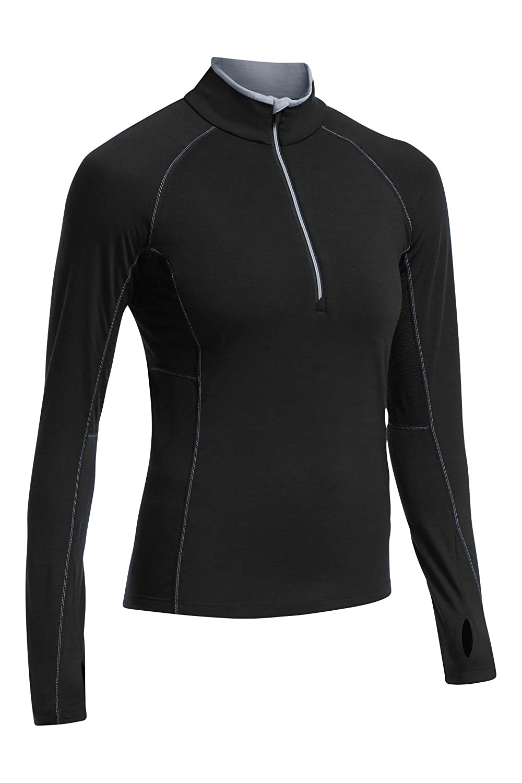 Icebreaker Damen Funktionsshirt Zone Long Sleeve Half Zip