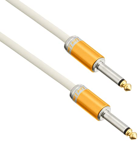 "Live Line 6.6=2m Straight 1/4"" Plug Advance Series Instrument Cable"