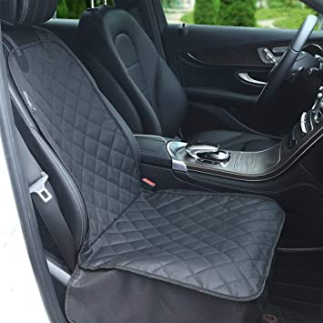 Amzdeal Dog Car Seat Covers Waterproof Front Single Car Seat Cover