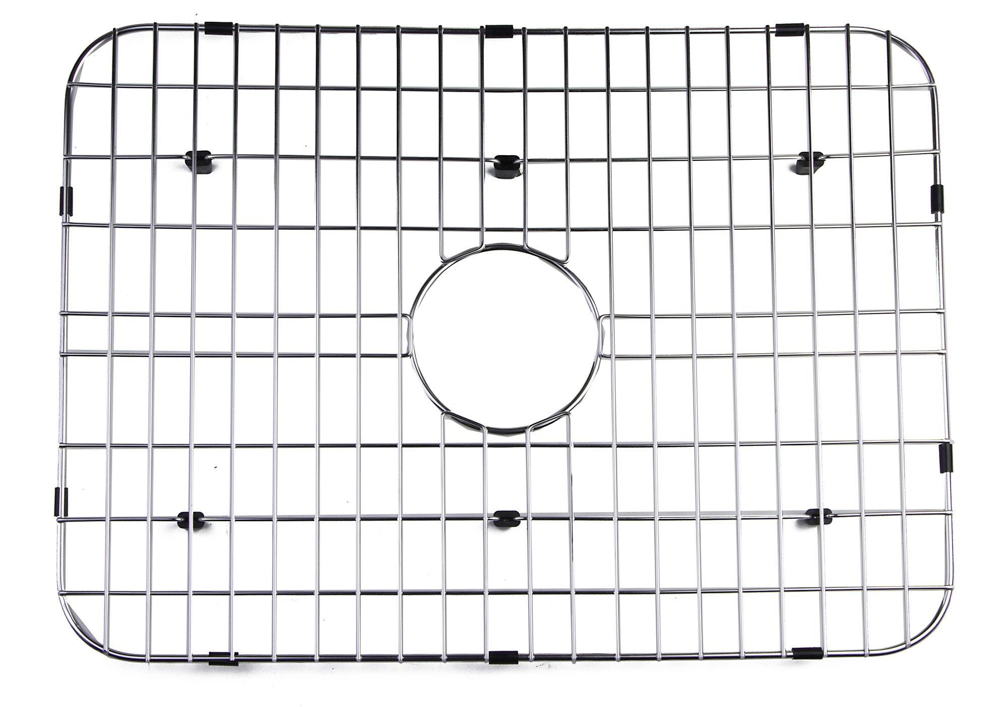 ALFI brand GR505 Solid Kitchen Sink Grid, Stainless Steel