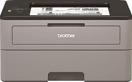 Brother HLL2350DWG1 Compacte, Zwart-Wit Laserprinter Met Dubbelzijdig Printen En Draadloze Netwerkverbinding
