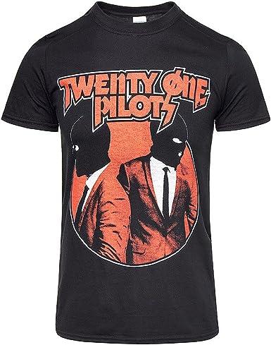 Twenty One Pilots Balaclavas Tyler Joseph oficial Camiseta para hombre (XX-Large): Amazon.es: Ropa y accesorios