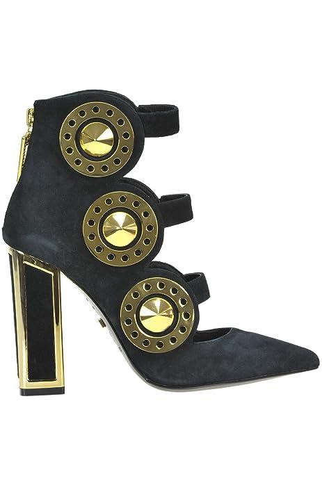 De Negro Zapatos Maconie Tacón Kat Mcglcat04024i Mujer Gamuza 0XPkZN8nwO