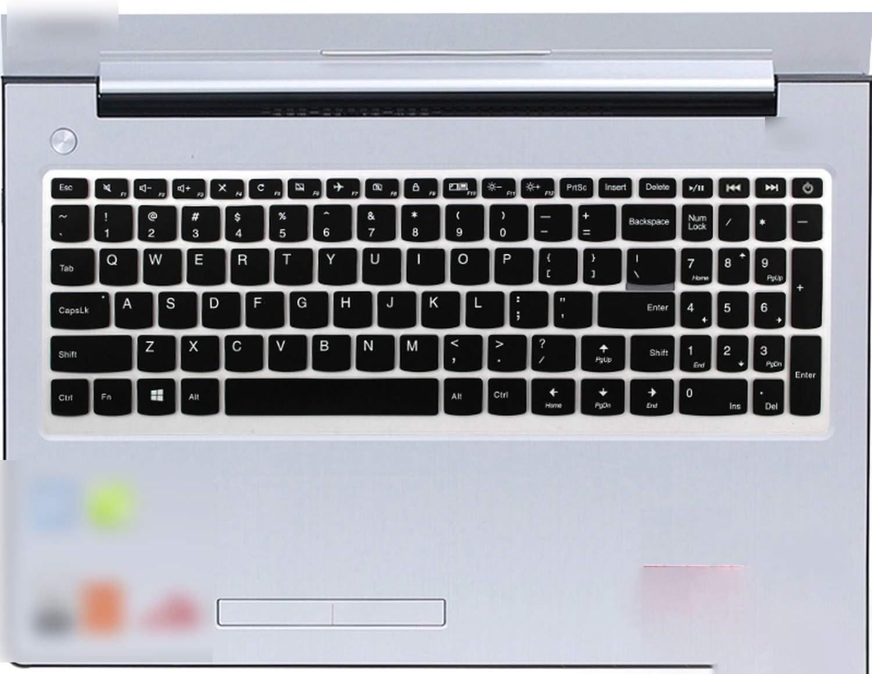 for Lenovo Ideapad 510 110 15 110 15 V110 V110 15 V310 15Isk Flex 4 15 Notebook 2017 New 15.6 Inch Laptop Keyboard Skin Cover-Whiteblue