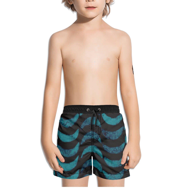 Ouxioaz Boys Swim Trunk Abstract Moonrise Moon Beach Board Shorts