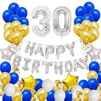 Toyvian Juegos de Globos de Feliz cumpleaños número 30 ...