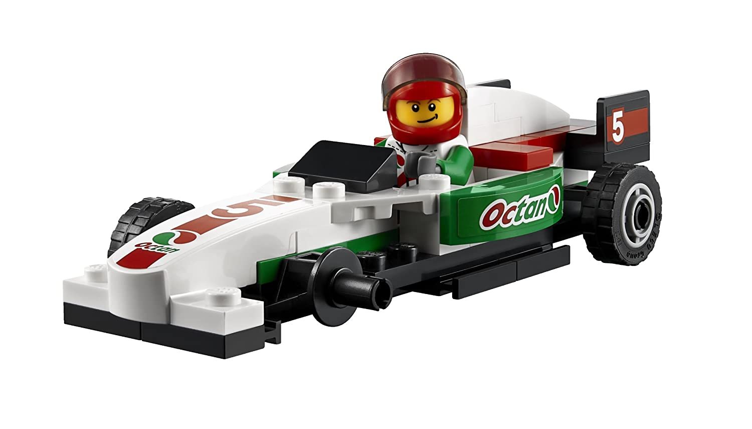 LEGO City 60025 Grand Prix Truck Toy Building Set 6025049