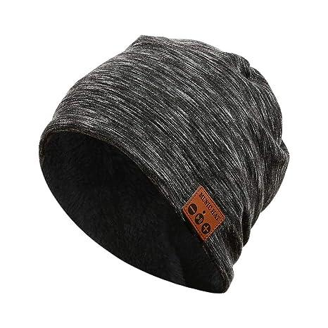 ERKEJI Cappello invernale da uomo Inverno cappello signora maschio a maglia  Double-Decker uomo ispessita 0380a4cf99a0