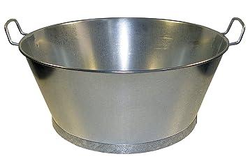 "Imex El Zorro 10223 - Baño Galvanizado 16"", Ø40x17 cms."