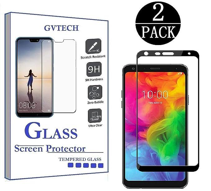 Amazon.com: GVTECH para LG Q7 Plus Protector de Pantalla ...