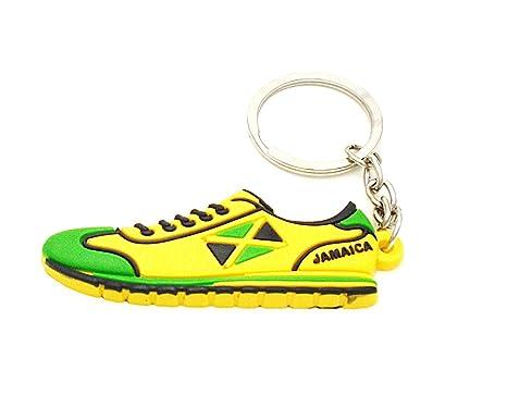 Jamaica flag athletic running shoe trainer keyringkeychain jamaica flag athletic running shoe trainer keyringkeychain voltagebd Gallery