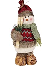 Muñecas de decoración de Navidad, MOONMINI decoración del hogar figuras juguetes de Navidad decoraciones Kit