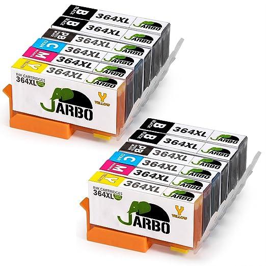 787 opinioni per JARBO 5 Colori Compatibile HP 364 XL Cartucce d'inchiostro (4 Nero,2 Nero Foto,2