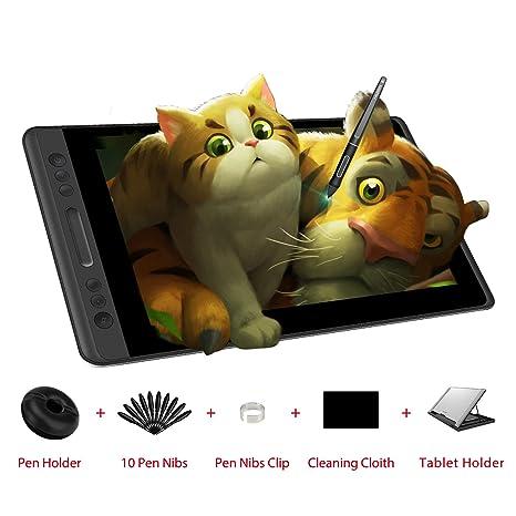 HUION Kamvas Pro 13 HD 13.3 in Tableta Monitor con función de inclinación Pluma sin batería