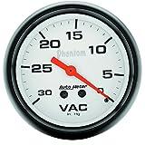 Auto Meter 5884 Phantom Mechanical Vacuum Gauge