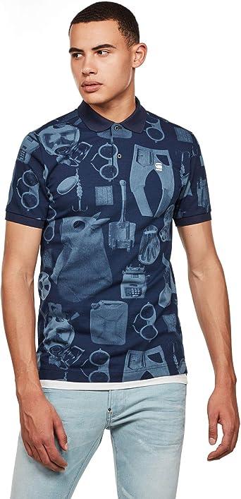 G-STAR RAW Dunda Materials Slim Camisa Polo para Hombre: Amazon.es: Ropa y accesorios