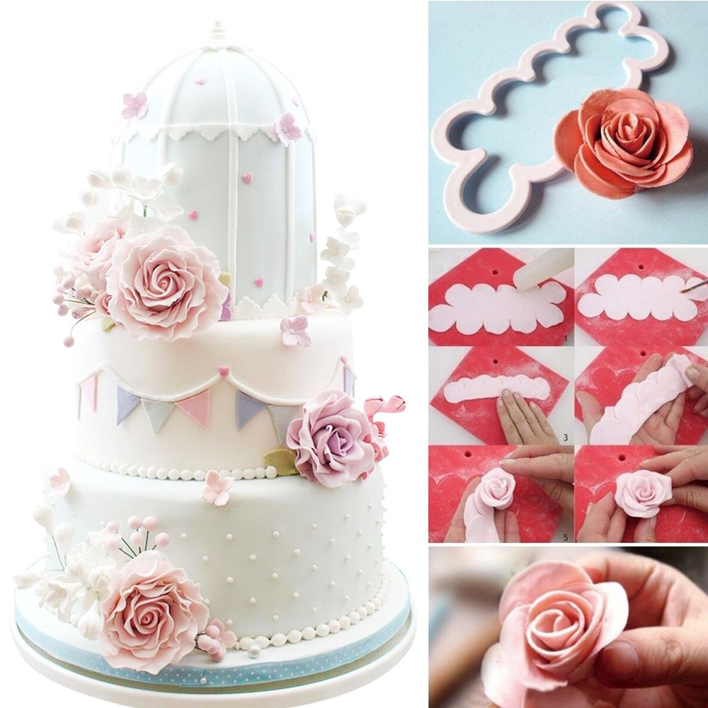 Baking Accs. & Cake Decorating Home & Garden Charitable Alphabet Letter& Number Fondant Cookie Cutter Mold Chocolate Cake Embosser Mould Sturdy Construction