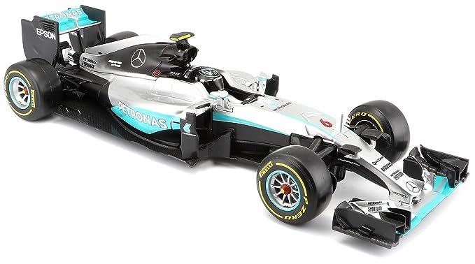 Bburago - Maqueta de Coche Mercedes de la F1 Temporada 2016 ...