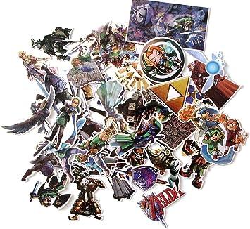 Amazon.com: Legend of Zelda - Juego de pegatinas (44 ...