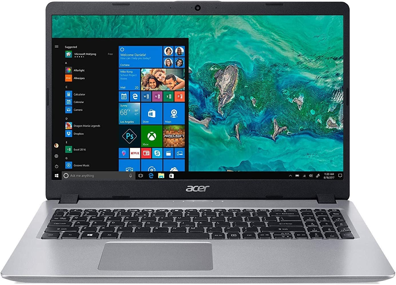 "Acer 15.6"" Aspire Laptop 8GB 500GB 