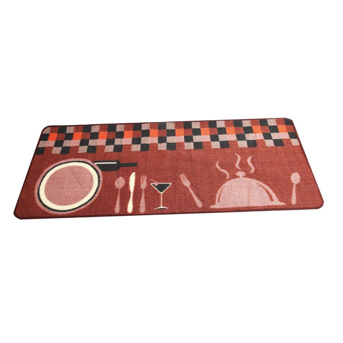 DoMoment Alfombra de Cocina de Dibujos Animados Puerta Antideslizante Alfombra de Entrada Absorbente Alfombras para la decoración del hogar para la Cocina Baño Piso
