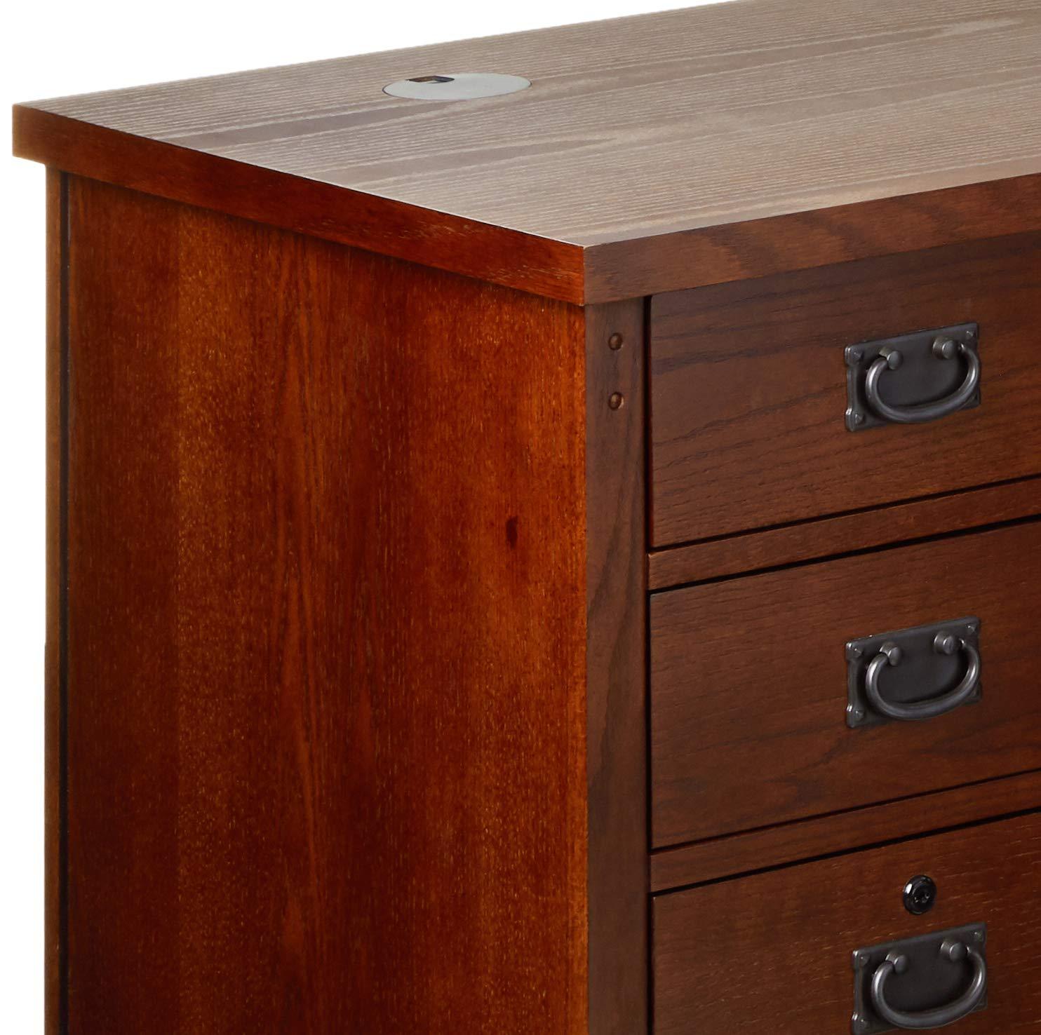 Martin Furniture Mission Pasadena Right L-Shaped Desk