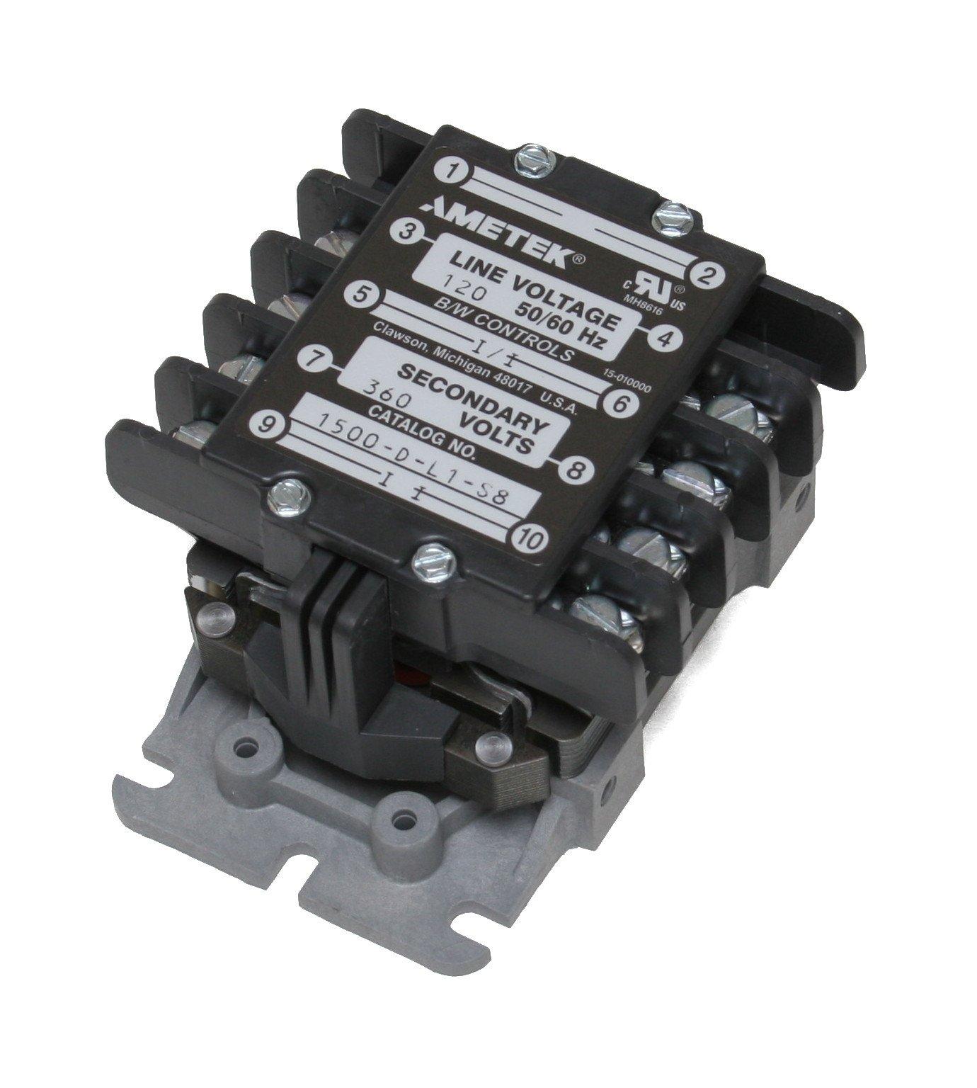 B/W Controls 1500-D-L1-S8 Liquid Level Control Relay
