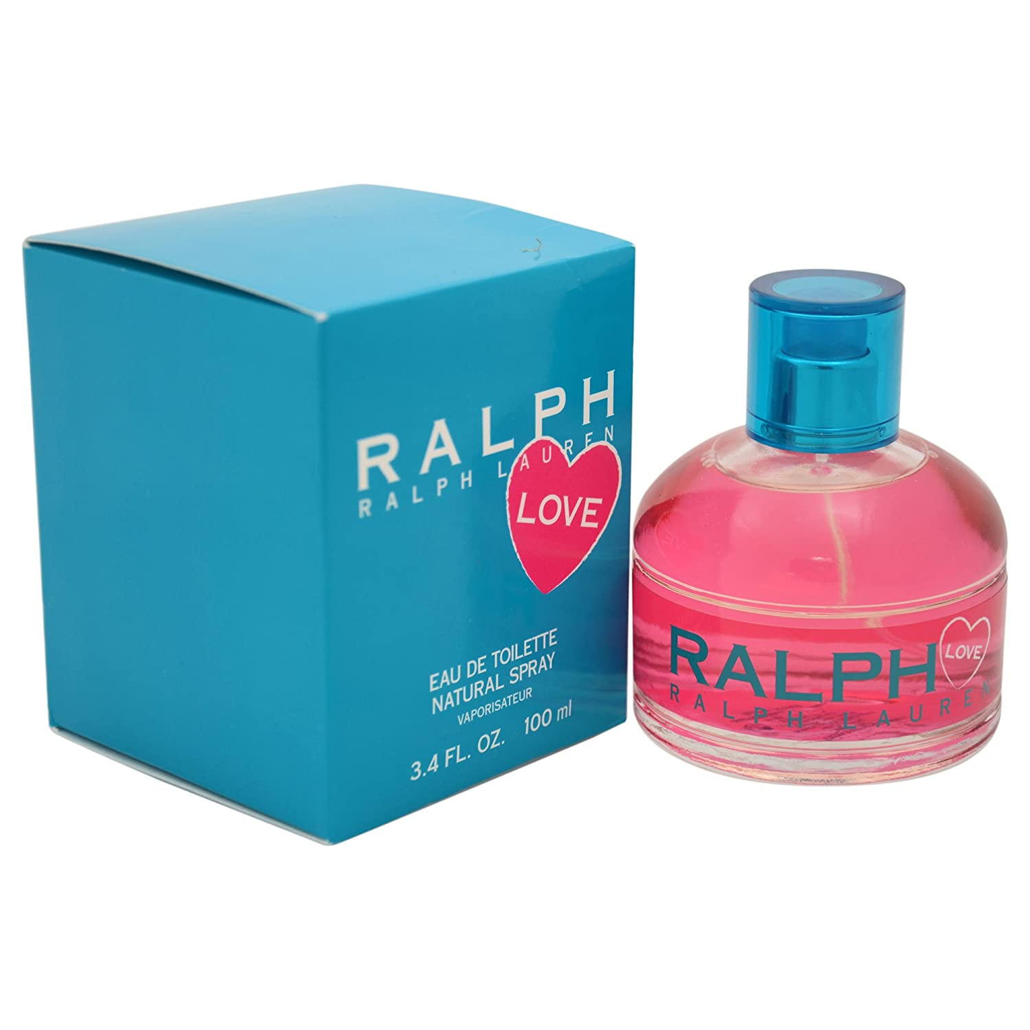 Ralph Lauren Ralph Love Eau de Toilette Spray for Women, 3.4 Ounce