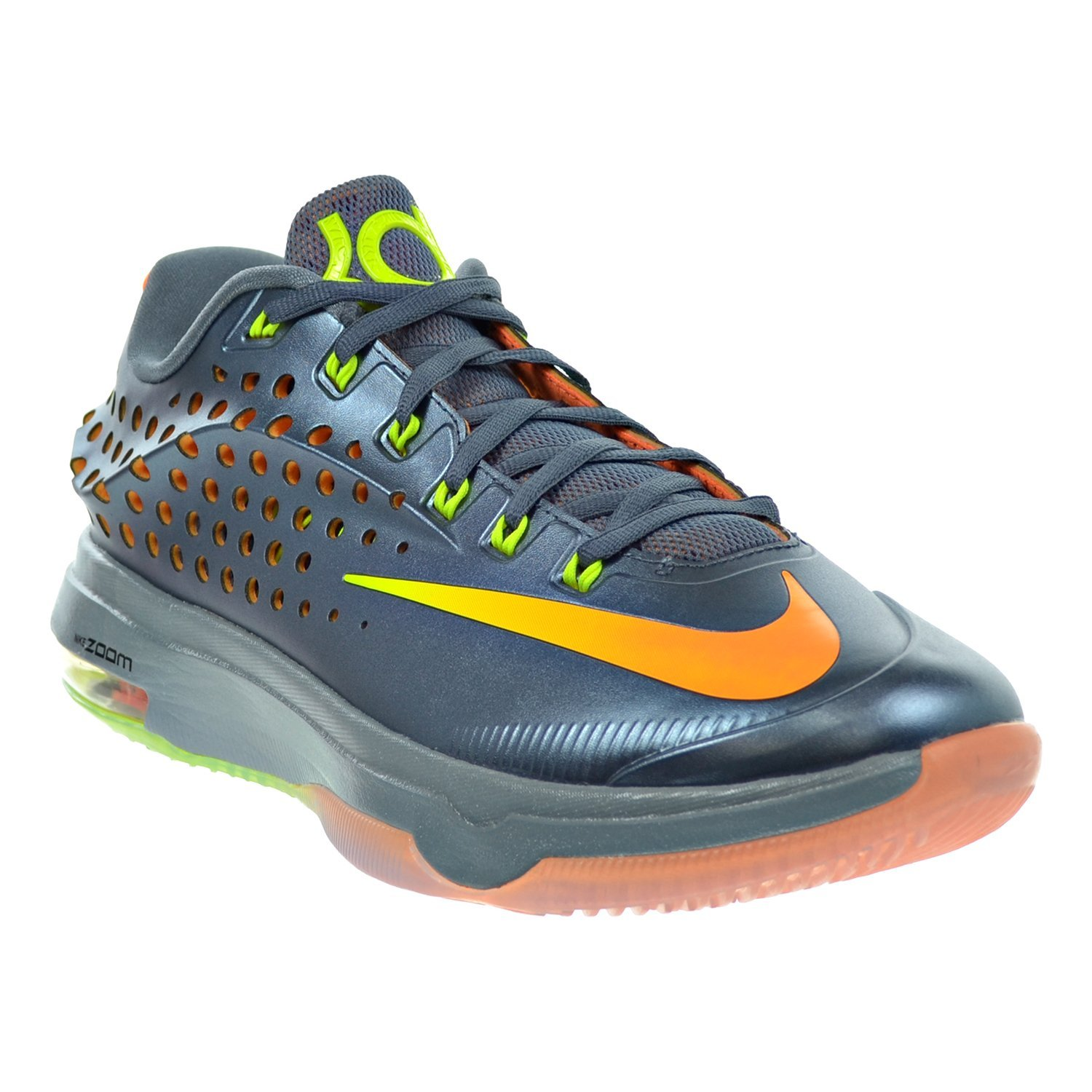 buy online 5a649 a2900 Amazon.com   Nike KD VII Elite Men s Shoes Blue Graphite Volt Bright Citrus Dove  Grey 724349-478   Basketball