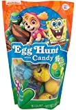 Nickelodeon Characters Egg Hunt Candy Filled Easter Eggs, 16 Count