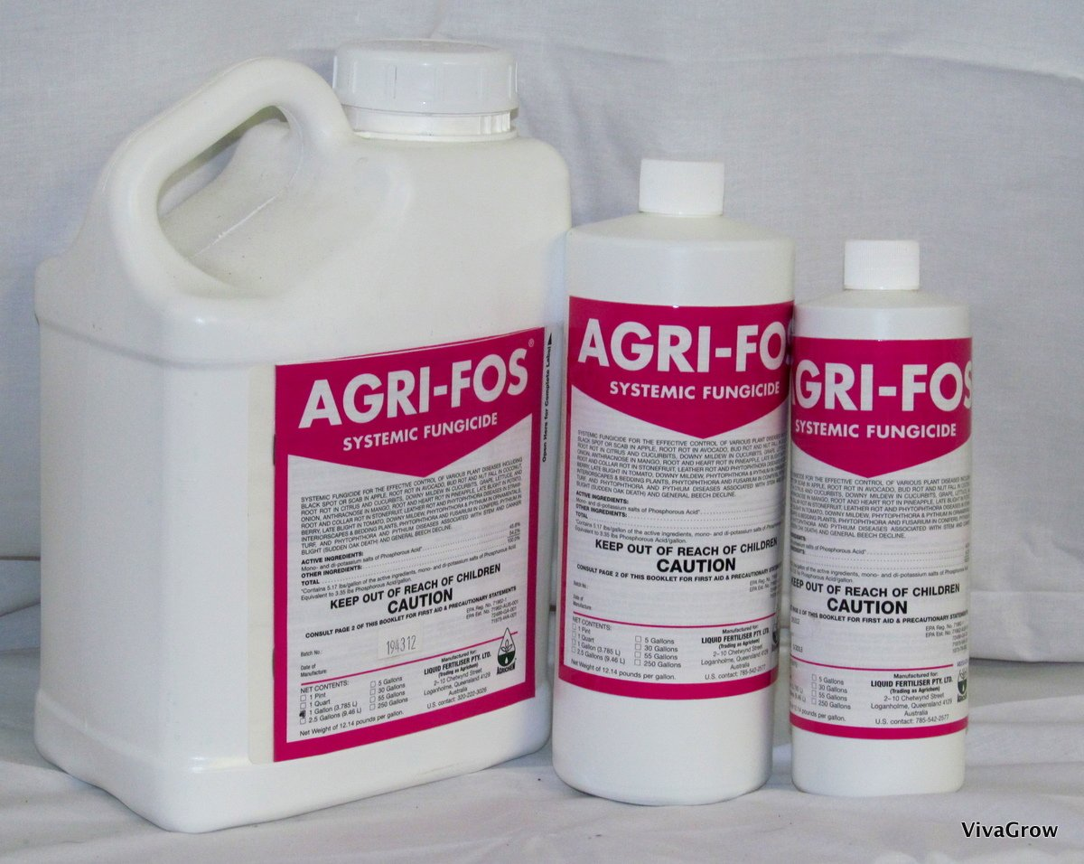 Agri-Fos Systemic Biorational Fungicide (Gallon) LG3325