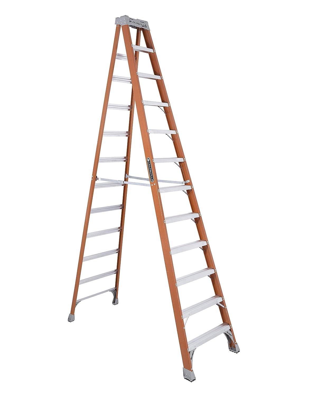 10-Feet Louisville Ladder FS1510 Fiberglass Step Ladder