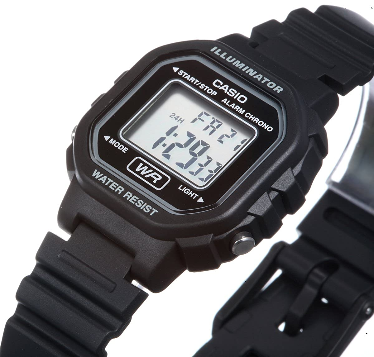 Casio Womens Classic La20wh 1a Resin Quartz Watch With Ae 1000w Manamp039s Waterproof Sports Electronic Digital Dial Black Watches