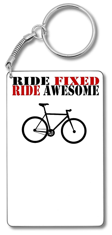 Ride Fixed Ride Awesome T-Shirt Porte-clés Porte-clés