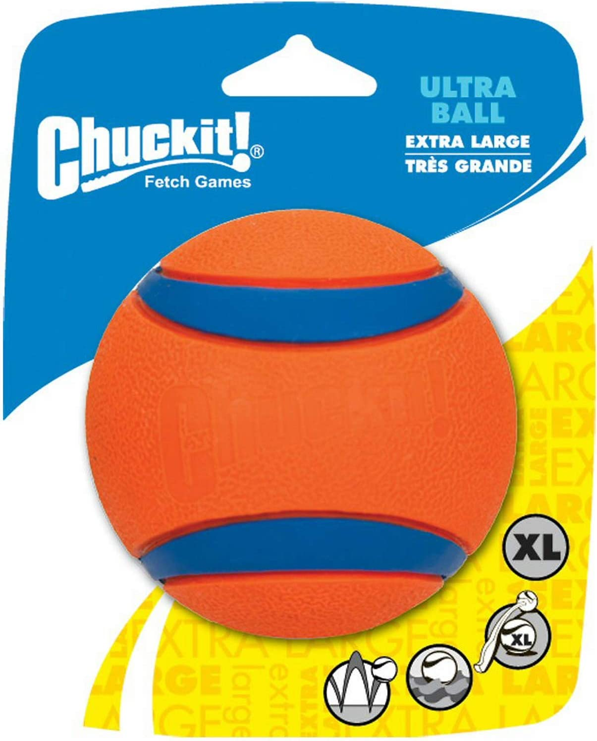 Chuck It! Ultra Ball - Pelota Extra Grande (12 Unidades): Amazon ...