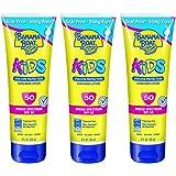 Banana Boat Kids Tear Sunscreen Lotion SPF 50, 8 Ounce (Pack of 3)