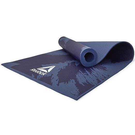Reebok Estera de Yoga - Pinceladas, 4 mm