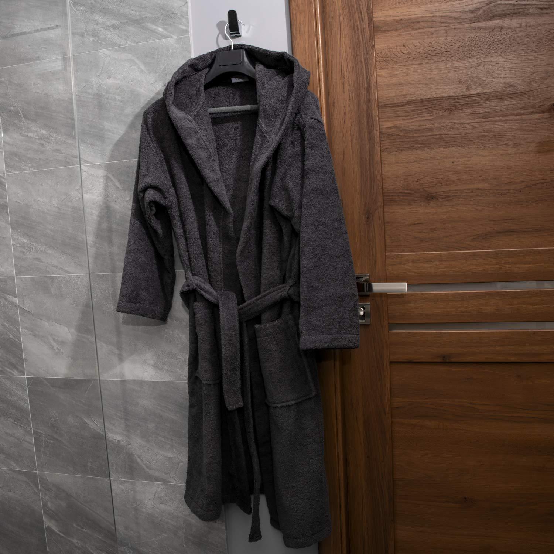 Oeko-TEX Zertifiziert Bademantel Bademantel Bademantel für Damen mit Kapuzen - Morgenmantel mit Baumwollfrottee, 2 Taschen, Gürtel - Saunamantel, Weich, Saugfähig und Bequem B07F14BGQ9 Bademntel 78f0c5