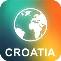 Croácia Offline Mapa