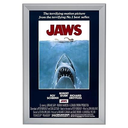 Amazon.com - SnapeZo Movie Poster Frame 27x41 Inches, Silver 1.7 ...