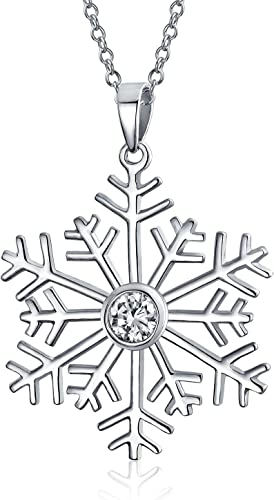 STERLING SILVER SNOWFLAKE SHAPE CHARM//PENDANT
