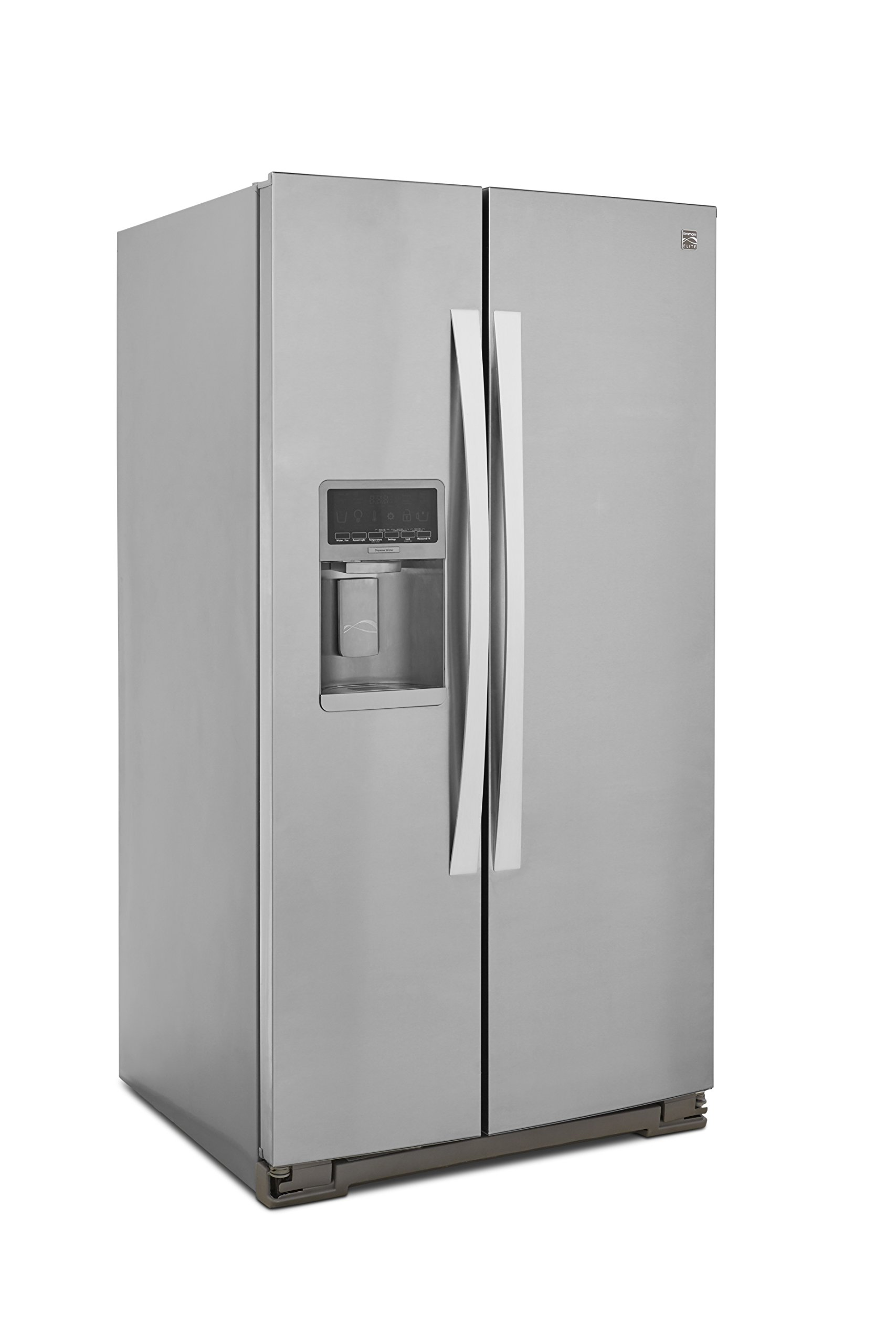 Kenmore Elite 51773 28 cu. ft. Side-by-Side Refrigerator with Accela Ice Technology in Stainless Steel, includes delivery and hookup (Available in select cities only) by Kenmore (Image #3)