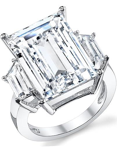 Kim Kardashian Sterling Silber 925 Verlobungsring Ehering Mit 17