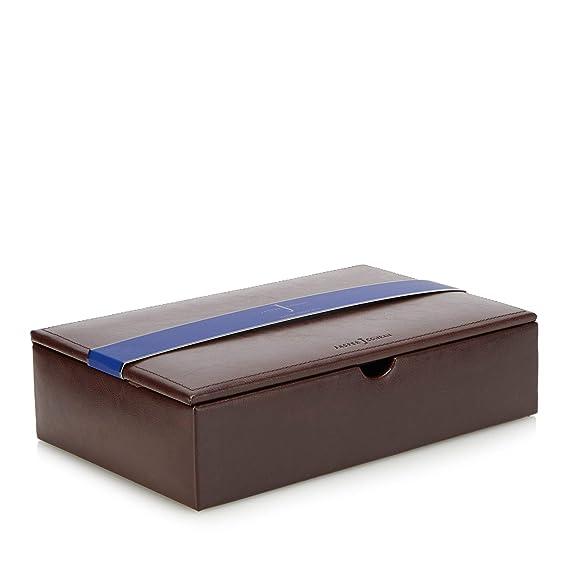de39956221e J By Jasper Conran Men Brown Leather Watch Box In A Gift Box One Size  J by Jasper  Conran  Amazon.co.uk  Clothing