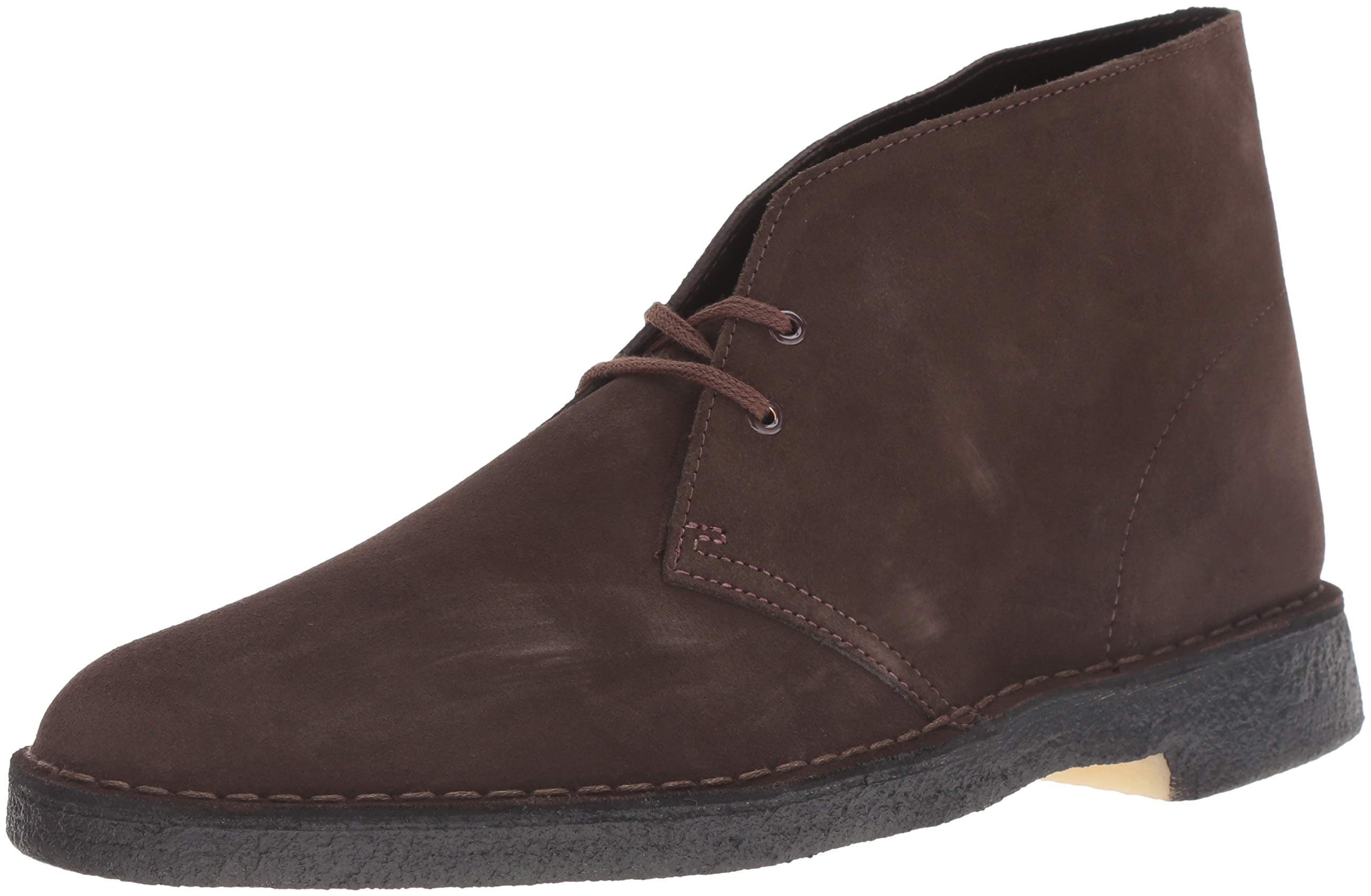 CLARKS Originals Men's Desert Boot,Brown Suede,10 M US