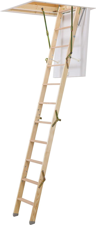 Dolle ClickFix Mini - Escalera plegable de madera (925 x 700 mm ...