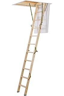 FAKRO - Escaleras LWK Komfort Plus 70 x 100 x 280: Amazon.es: Bricolaje y herramientas