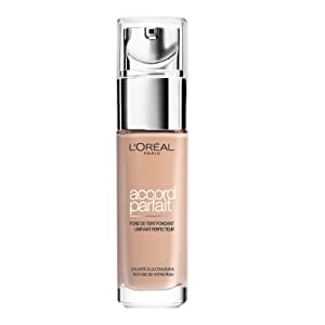 L'Oréal Paris Make Up Designer - Accord Parfait Fond de Teint Fluide Unifiant Vanille Rosé 2.R 30 ml