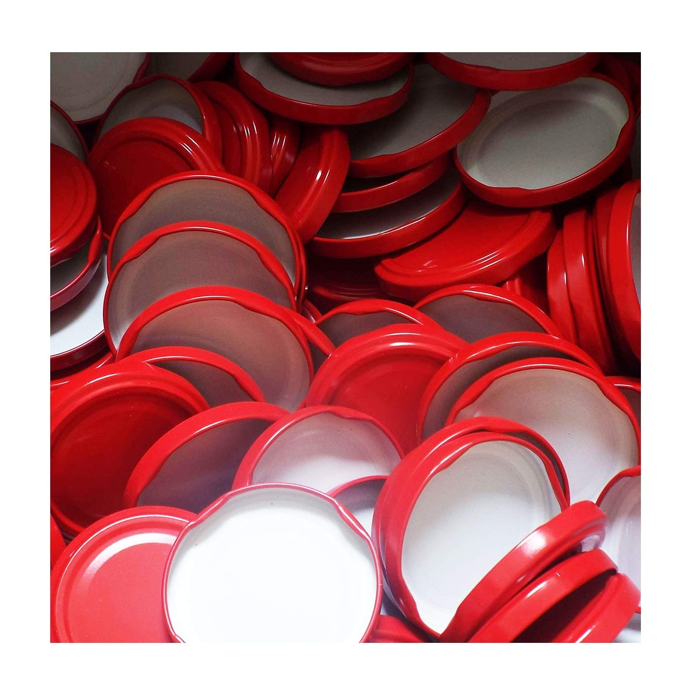 25 St/ück X to 63 mm Schwarz Schraubdeckel f/ür Gl/äser /• Twist Off Deckel Verschluss /Ø 63mm /• Ersatzdeckel To63 /• 25,50,100,150,200,250,500 St/ück /• Gro/ße Auswahl Verschiedene Gr/ö/ßen und Farben