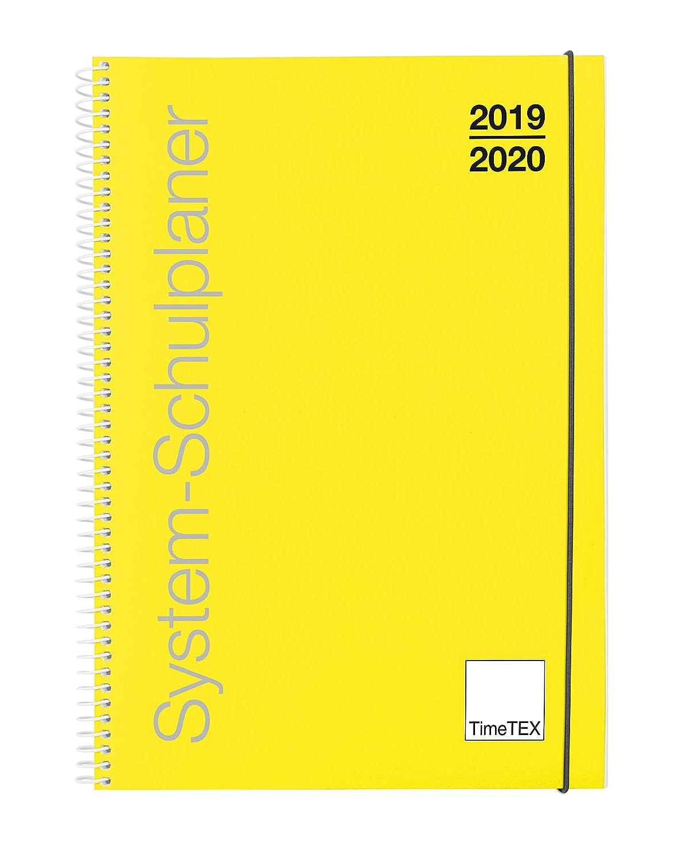 TimeTex 10450 - Agenda escolar con anillas, A4, año escolar ...